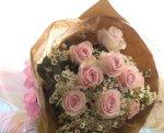 画像3: バラとワックスフラワーの花束〜Pure (3)