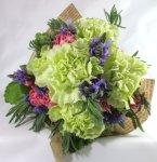 画像1: ラベンダーとハーブの花束〜タッジー・マッジー (1)