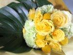 画像3: 黄色いバラの花束 (3)