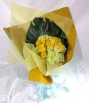 画像5: 黄色いバラの花束 (5)