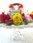 画像4: プリザーブドフラワーとキャンドルのデコレーションケーキ〜HappyBirthday (4)