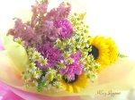画像5: カモミールと向日葵の花束 (5)