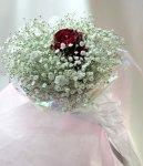 画像1: かすみ草の花束in My heart (1)