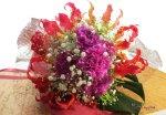 画像1: グロリオサとカーネーションの花束〜Robust love (1)