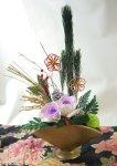 プリザーブドフラワーのお正月飾り4