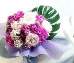 画像6: 芍薬と美女撫子の花束 (6)