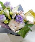 画像6: パールネックレスと、ふんわり花束のギフトセット (6)