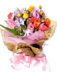 画像4: ポピーとリューココリーネの花束full of color (4)