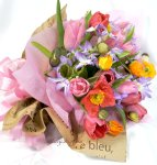 画像3: ポピーとリューココリーネの花束full of color (3)