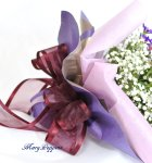 画像4: 都忘れとバラの花束 (4)