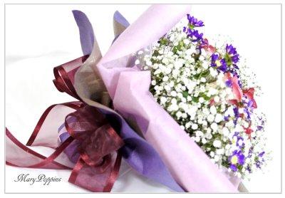画像2: 都忘れとバラの花束