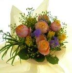 画像2: オレンジのバラの花束〜Orenge-cute (2)