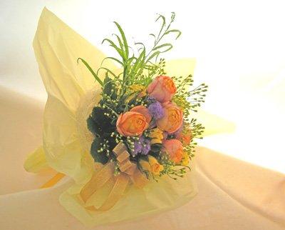 画像2: オレンジのバラの花束〜Orenge-cute