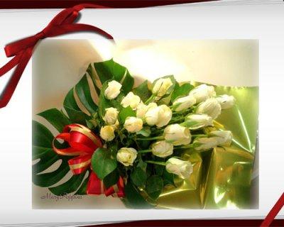 画像3: 薔薇(バラ)の花束