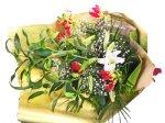 画像3: カサブランカとグロリオーサリリーの花束 (3)
