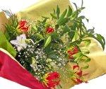 画像2: カサブランカとグロリオーサリリーの花束 (2)