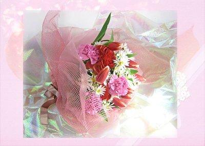 画像1: ラナンキュラスとマーガレットの花束