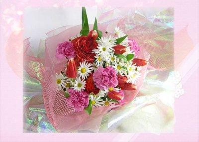 画像3: ラナンキュラスとマーガレットの花束