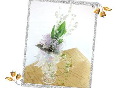 画像3: プリザーブドのすずらんの花束
