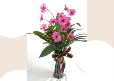 画像3: ガーベラのポット付き花束