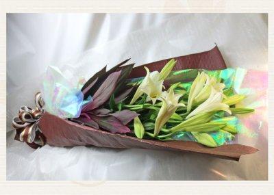 画像3: 鉄砲百合の花束Easter lily