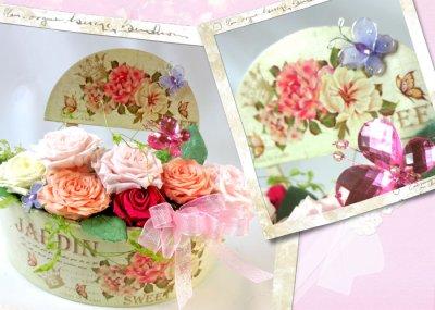 画像1: プリザーブドフラワーのバラの庭〜RoseGarden