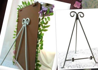 画像2: 紫陽花のアートフラワーフレーム・tinプレート