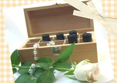 画像3: アロマオイル用木製ボックス
