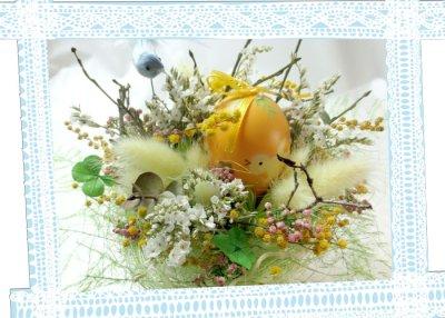 画像1: 小鳥とたまごと四つ葉のクロ-バーHappy love