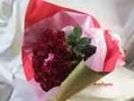 画像14: 薔薇(バラ)の花束 (14)