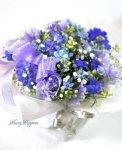 画像3: 青い小花のアレンジメント〜blooms of blue2 (3)