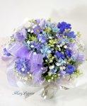 画像2: 青い小花のアレンジメント〜blooms of blue2 (2)