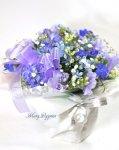 画像4: 青い小花のアレンジメント〜blooms of blue2 (4)
