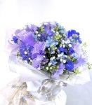 画像6: 青い小花のアレンジメント〜blooms of blue2 (6)