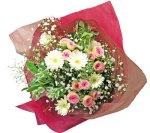 画像4: ミニバラとガーベラの花束 (4)