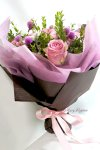 画像4: マートルとバラの花束 (4)