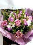 画像3: マートルとバラの花束 (3)