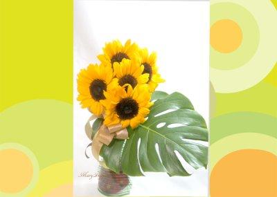 画像3: ひまわりの花束〜sunny