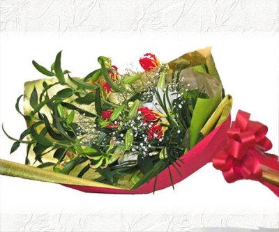 画像3: カサブランカとグロリオーサリリーの花束