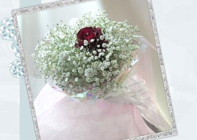 画像3: かすみ草の花束in My heart