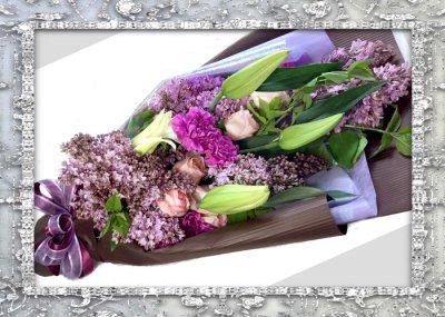 画像3: ライラックの花束