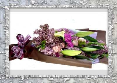 画像2: ライラックの花束