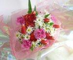 画像4: ラナンキュラスとマーガレットの花束 (4)