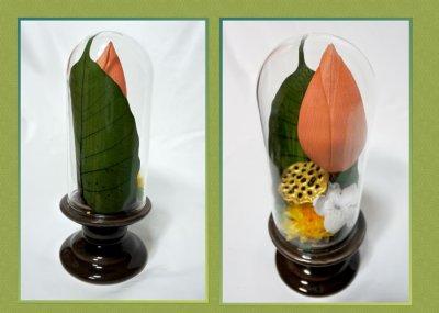 画像1: プリザーブドフラワーのお供えのアレンジ〜蓮