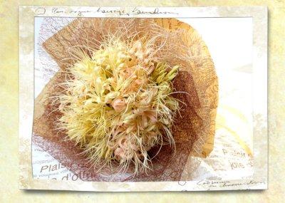 画像1: 秋色リコリスの花束