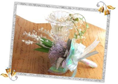 画像1: プリザーブドのすずらんの花束