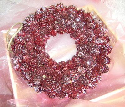 画像1: お菓子なリース (1)