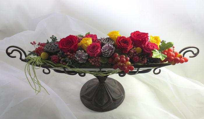 画像1: バラと蓮の実のコンポート (1)