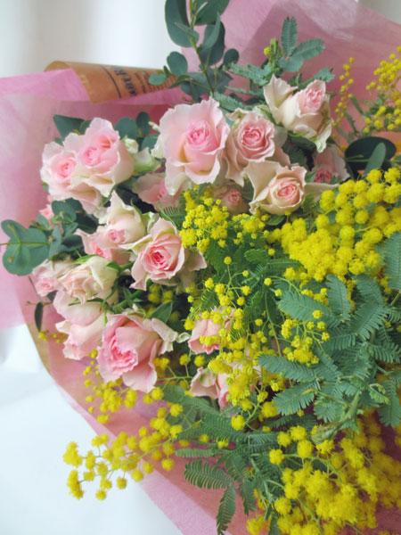 画像1: ミモザの花束〜LUSSIER (1)