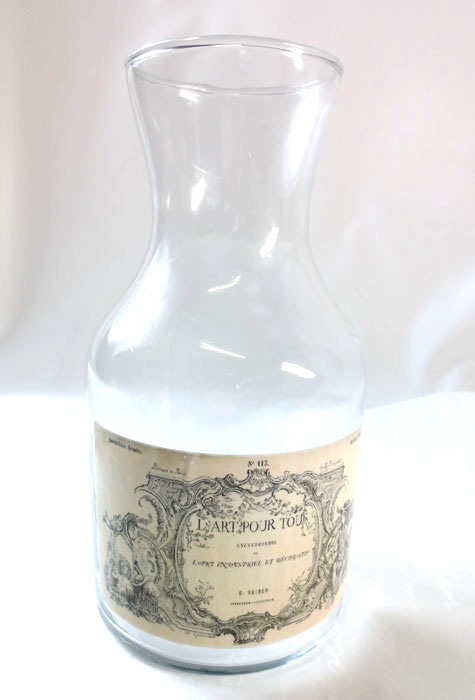 画像1: クラシックスタイル・ガラスボトル (1)